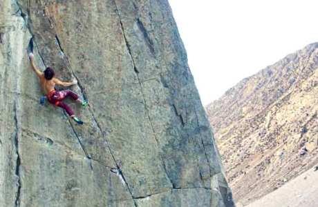 Chris Sharma auf Klettertour in seiner Heimat Kalifornien