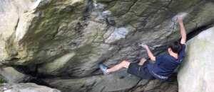 Kam, sah, kletterte: Ryohei Kameyama in Fontainebleau