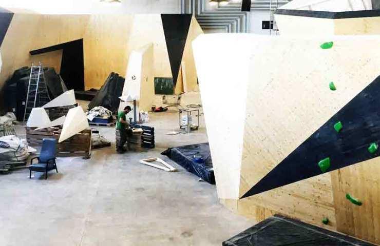 Eröffnung der neuen Boulderhalle bimano in Bern