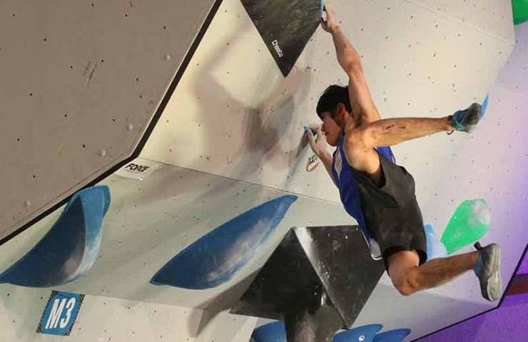 Mit dem Block and Swing zu mehr Fingerkraft und Körperspannung