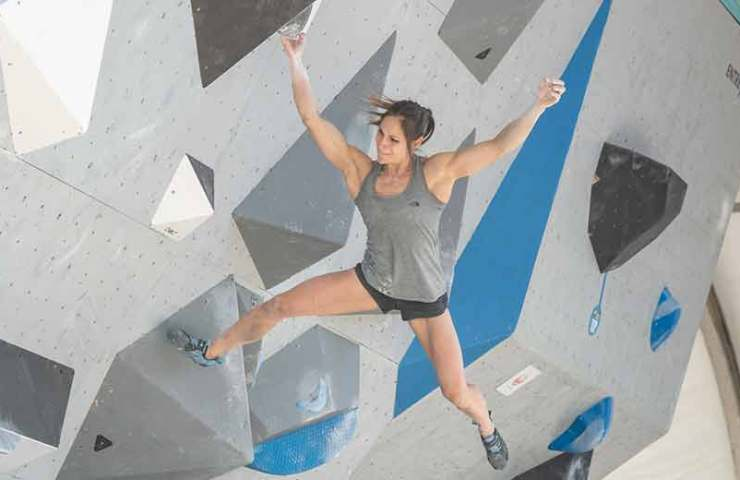 Alex Puccio wins Boulder World Cup in Vail