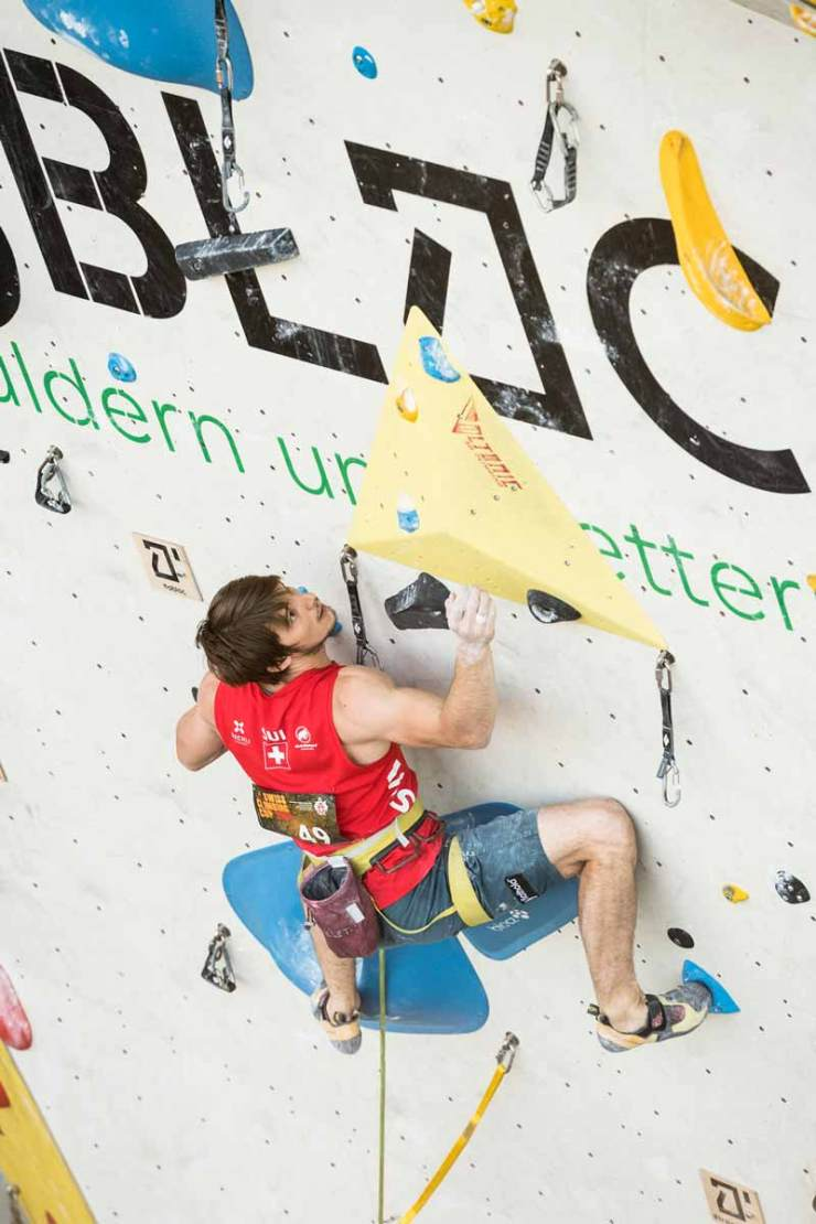 Nils Favre gewinnt Schweizermeister-Titel in Lead