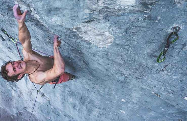 Adam Ondra climbs First Flight (8c +) in Canada onsight