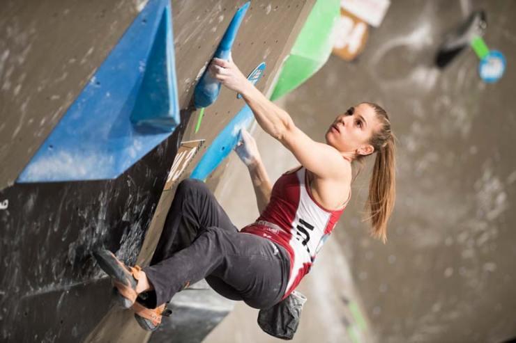 Petra Klingler representa a Suiza en las tres disciplinas.
