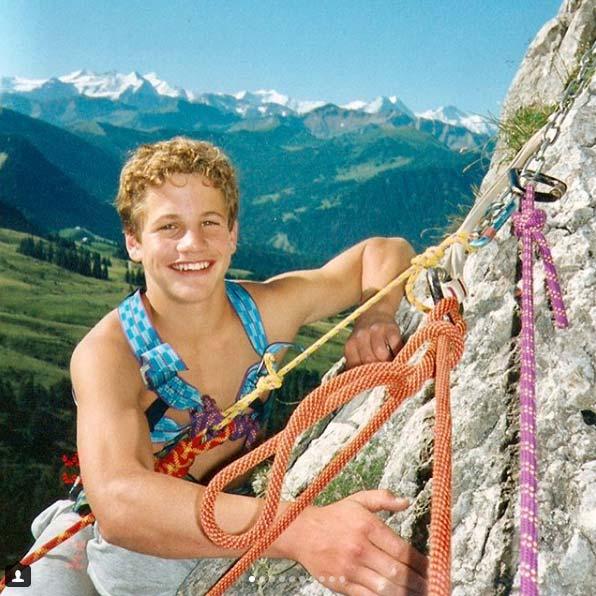 Roger Schäli begann schon als Kind mit dem Klettern (Bild Roger Schäli).