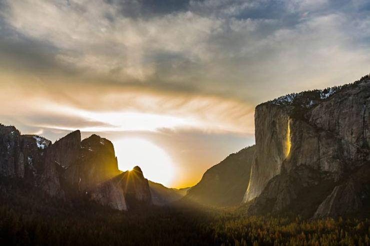 Den Namen hat die Wand des El Capitans bekommen, weil sie morgens als Erste von der Sonne angestrahlt wird.
