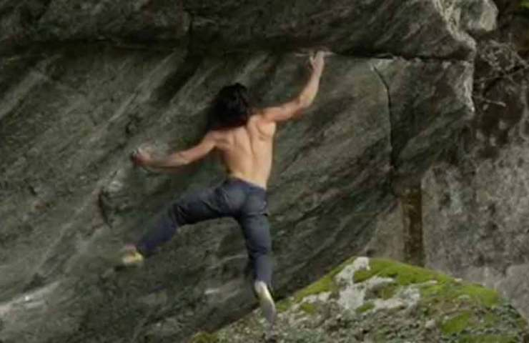 Video: Shawn Raboutou bei der Begehung von Off the Wagon low (8c+/V16)
