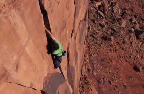 Video: Alex Honnold klettert Sandsteintürme in Utah free solo