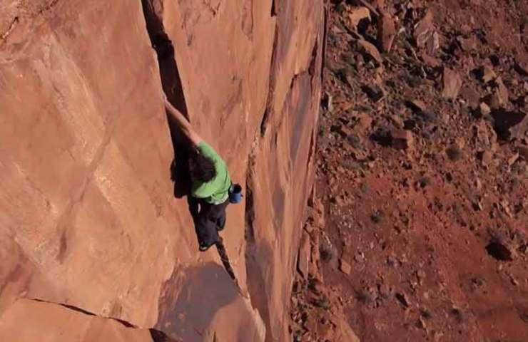 Video: Alex Honnold klettert Sandsteintürme in Utah free solo