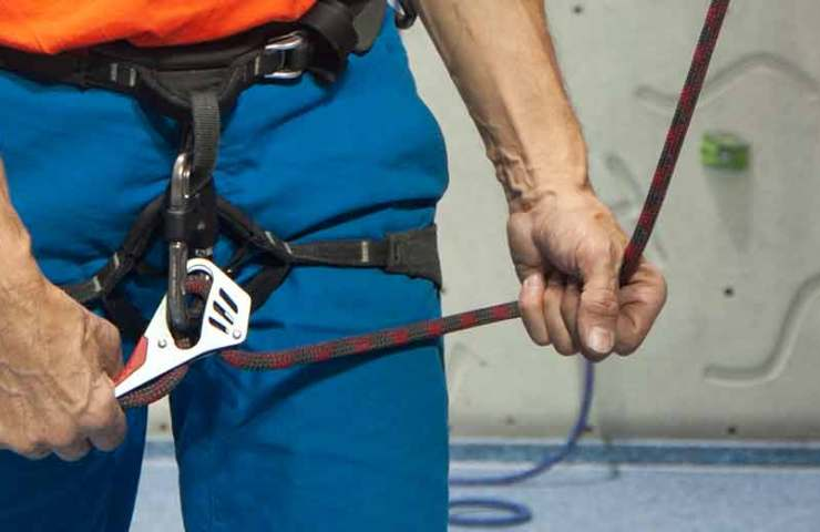 The concept of the two-hand sensor promises more safety during rope climbing