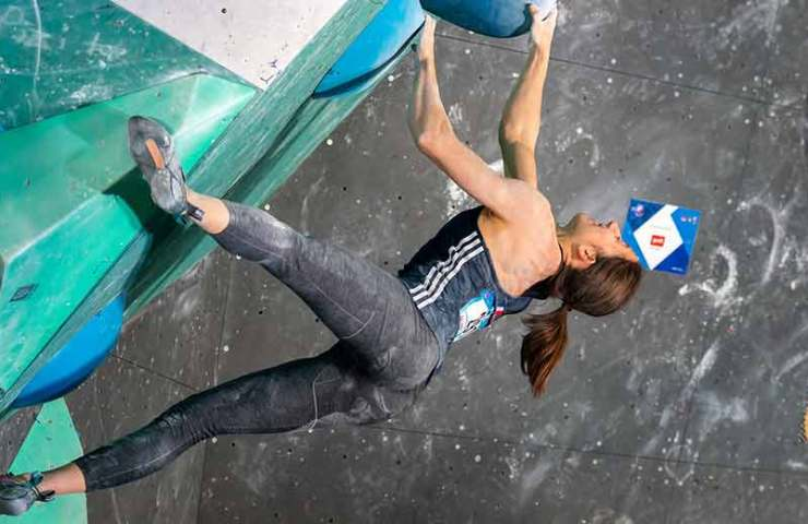 This weekend is the Boulder and Speed ​​World Cup in Chongqing