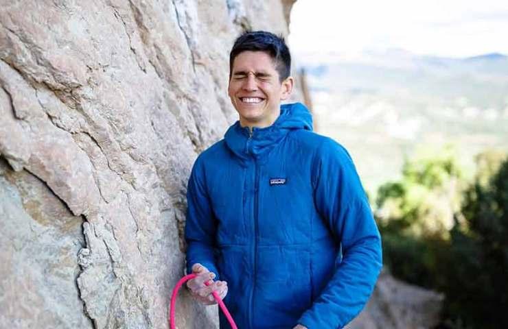 Piotr Schab katapultiert sich mit der Begehung von Fight or Flight in den Club der 9b-Kletterer