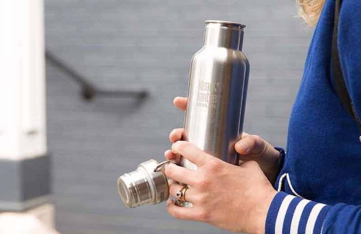 Das ist die wohl sauberste Trinkflasche überhaupt: Klean Kanteen Classic Reflect