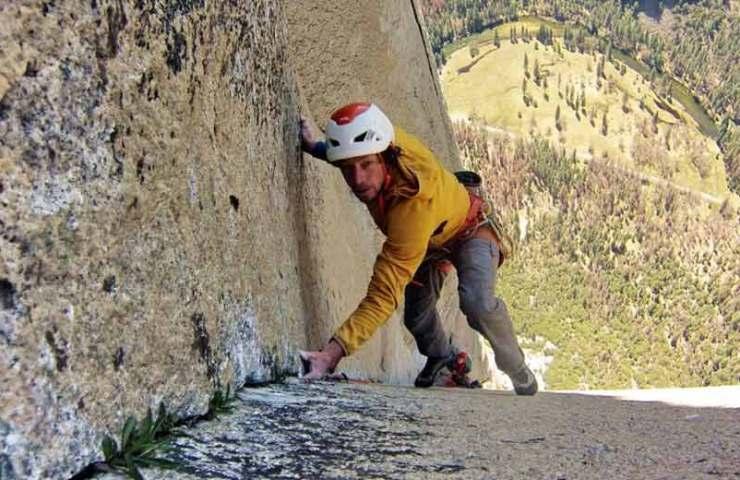 Podemos presentarles: el escalador suizo Silvan Schüpbach