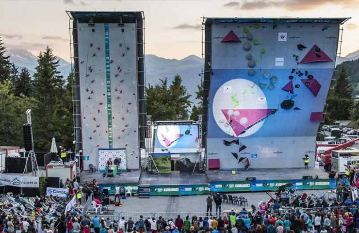 Climbing World Cup in Villars 2019 - information and live stream