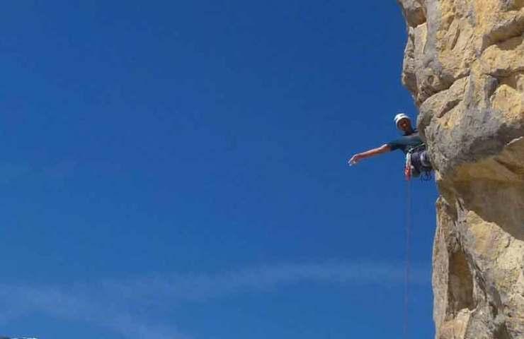 New multi-pitcher tour in the Sanetsch climbing area: Le Septième Sens