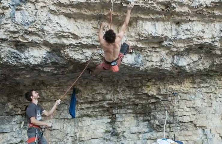 Adam Ondra and Stefano Ghisolfi climb two new routes in Italy