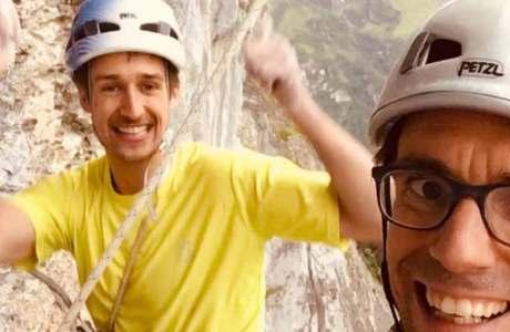 David Firnenburg klettert eine der schwersten Nordwandrouten der Schweiz: 6.4 Sekunden