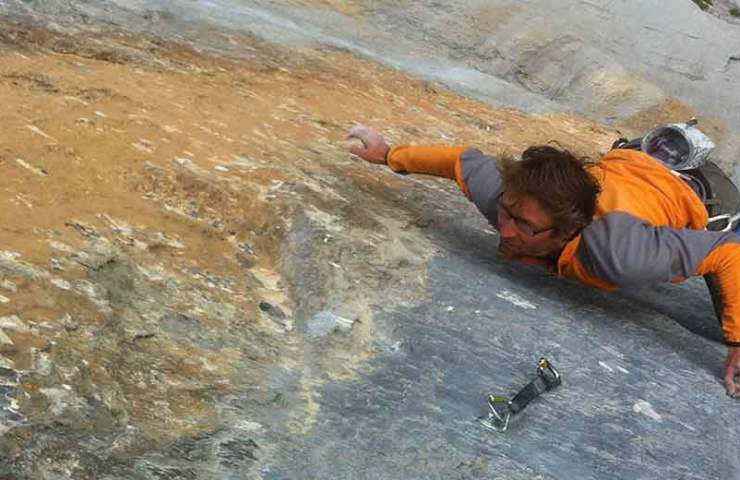 Probably the hardest route in the Swiss Alps: Gran Paradiso (8c) on the Wendenstöcken