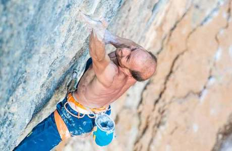 Cédric Lachat in top form: Joe Mama (9a +) climbed