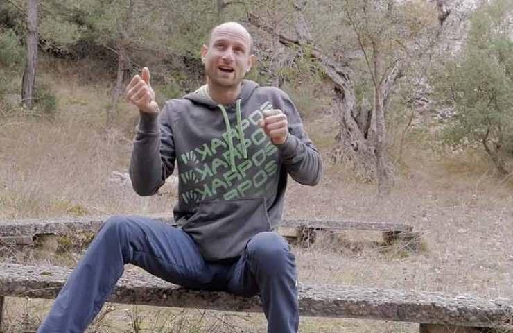 Cédric Lachat erklärt die Kletterroute Pachamama (9a+) Schritt für Schritt