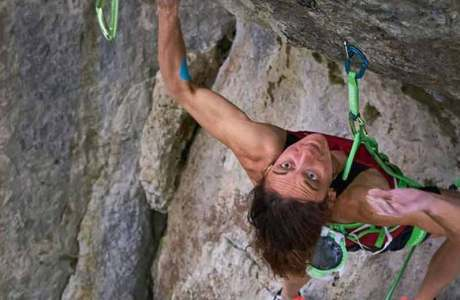 Melissa Le Nevé is the first woman to climb Action Directe (9a)