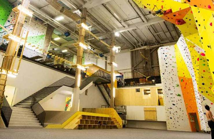 Under these conditions, Swiss climbing halls open