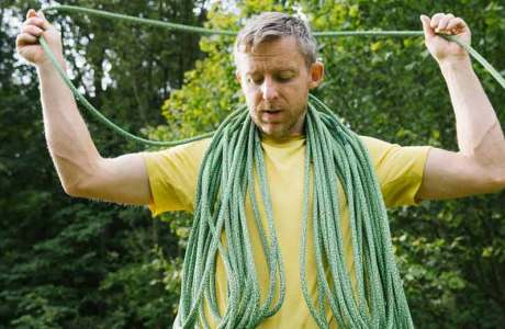 This rope is cut-resistant than all others: the Edelrid Swift Protect Pro Dry
