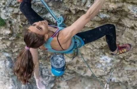 Laura Rogora es la quinta mujer en subir un 9a + con Pure Dreaming Plus