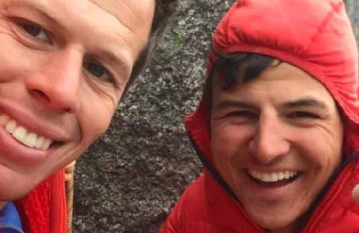Yannick Glatthard and Niklaus Kohler manage the first red point ascent of El Cap Feelings