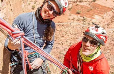 Caroline Ciavaldini and James Pearson make first ascent in Ethiopia: Excalibur