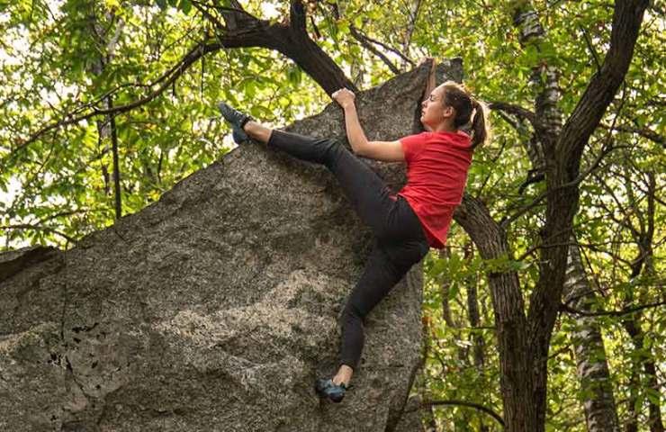 Die Boulderwaffe aus dem Hause Scarpa: Der Instinct VSR