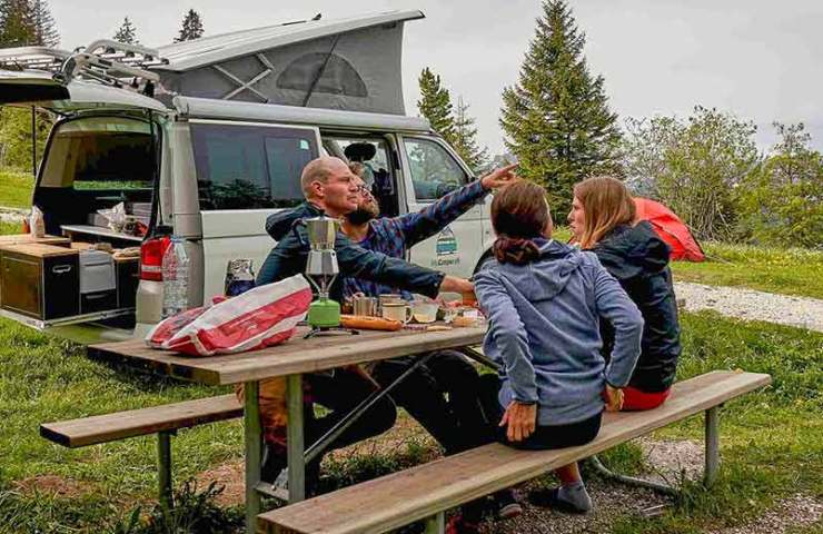 Vanlife: pitches, equipment and tips