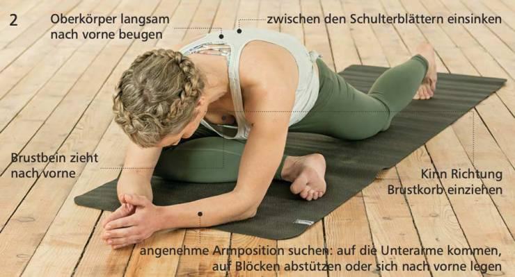 Yoga-Übung für Kletterer: So trittst du beim Klettern höher an / Position 2