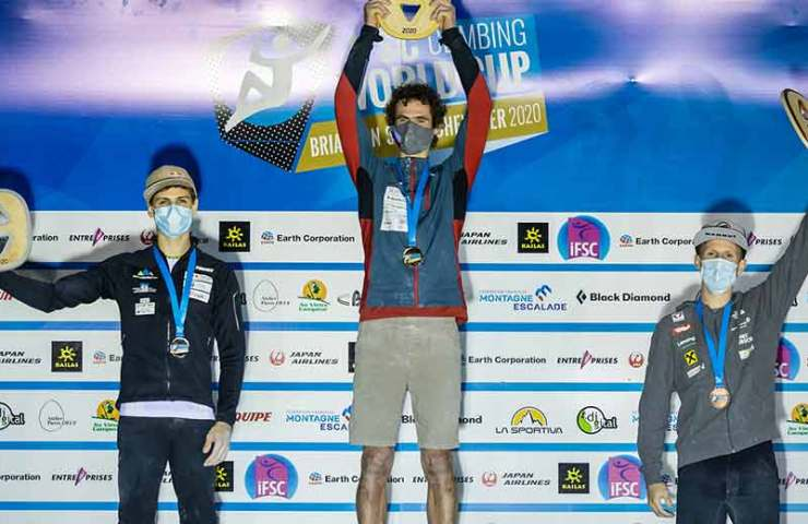 Adam Ondra: Almost punished and still got gold