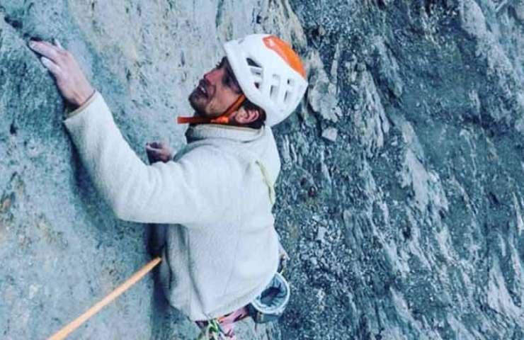 Nico Favresse y Sébastien Berthe escalan la ruta más difícil del Eiger en un día