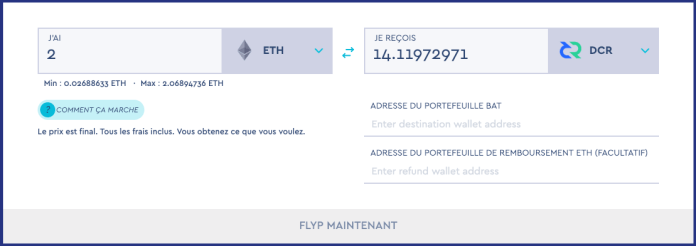 FLYP.me et son nouvel interface