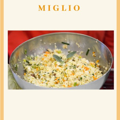 Cereale : Miglio Superfood