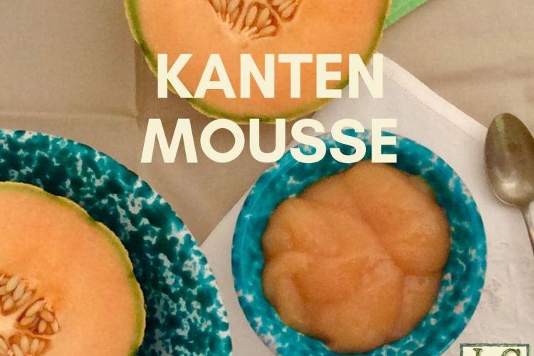 Kanten-Mousse di Melone