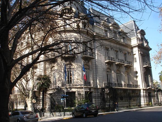 La Argentine La Aires Buenos Large 9 Du Julio Plus De Monde Route