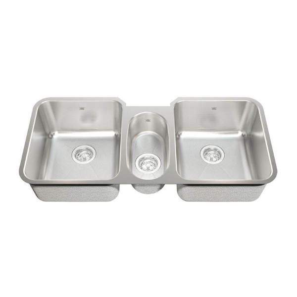 kindred triple bowl undermount sink