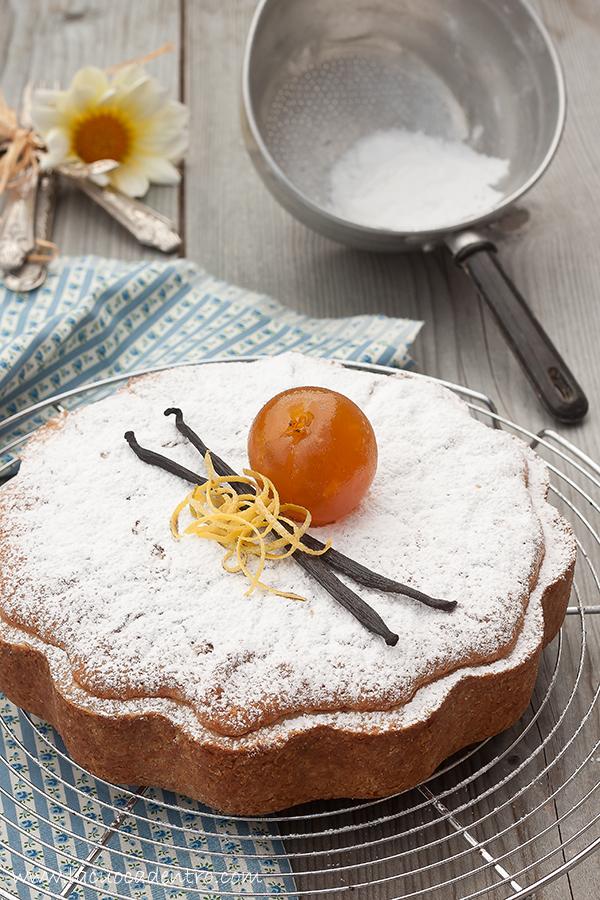 torta morbida albicocca