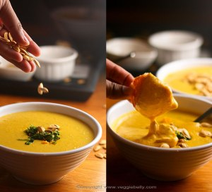 pumpkin soup supa dovleac