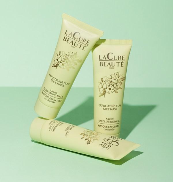 Masque Exfoliant Purifiant à l'Argile Verte - Eau Thermale - La Cure Beauté