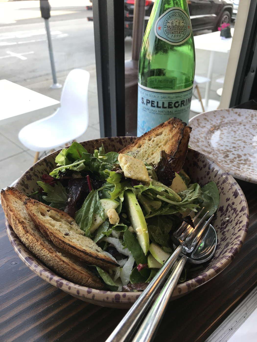 Salad at La Puglia
