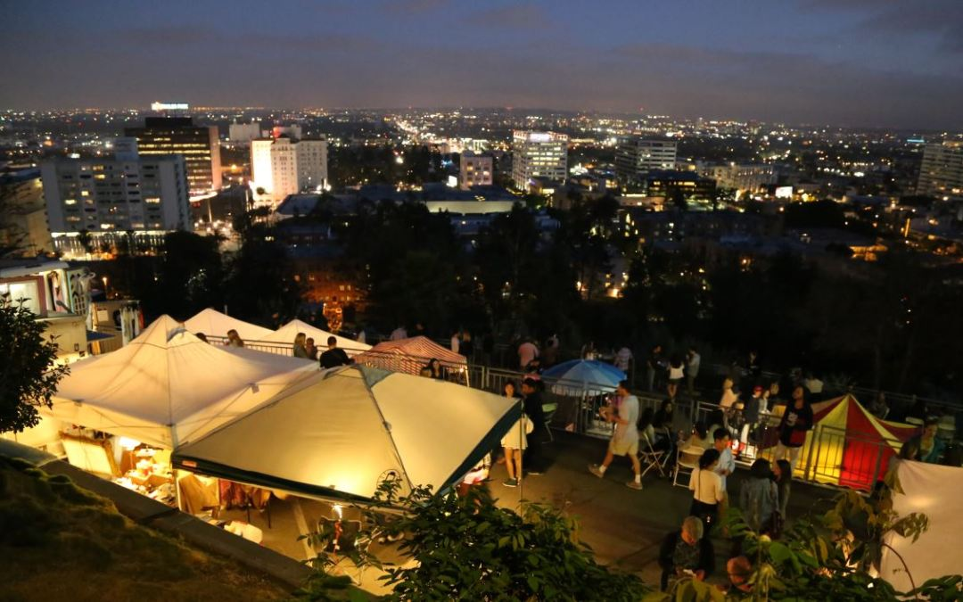 A Great Summer Date Idea: Hollywood Night Market at Yamashiro