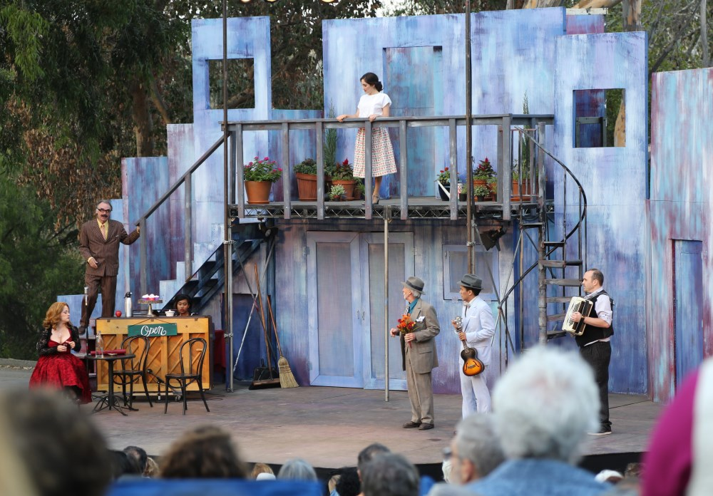 Shakespeare in the Park performance