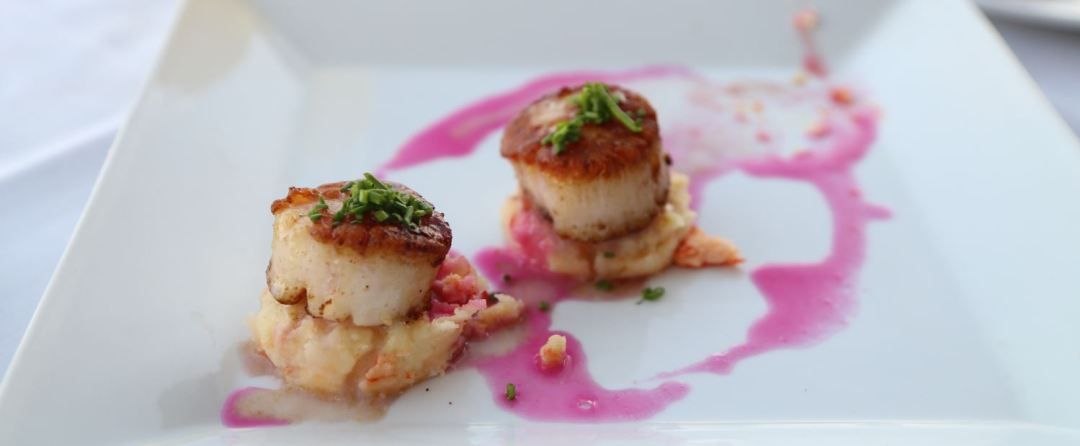 Scallops at the Skyroom