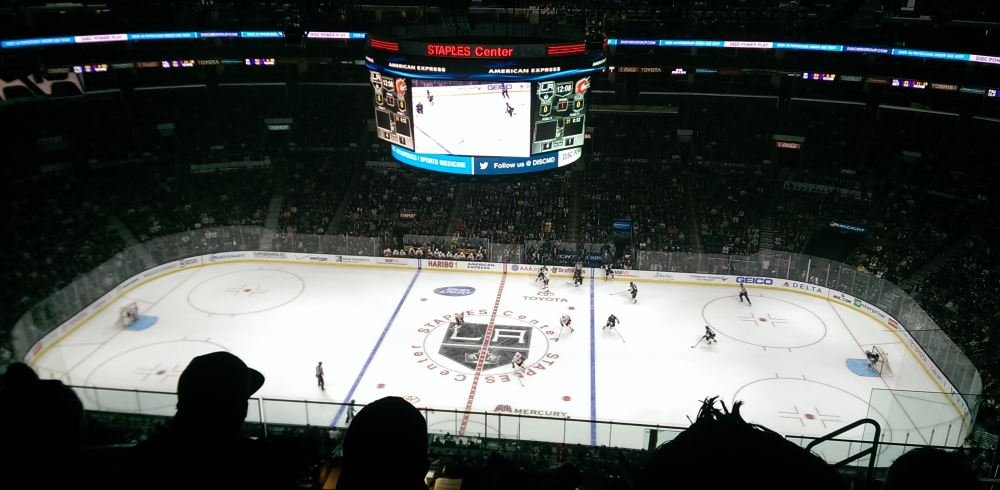 LA Kings game
