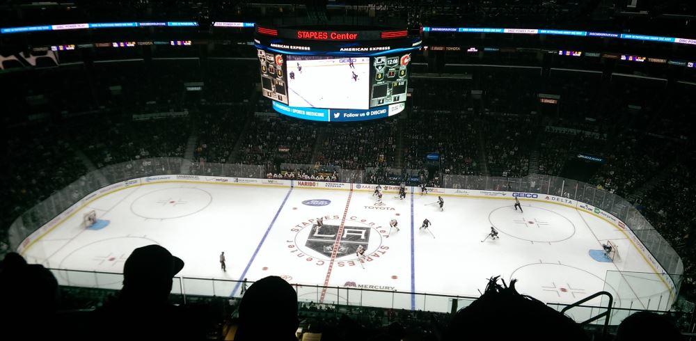 LA Kings game